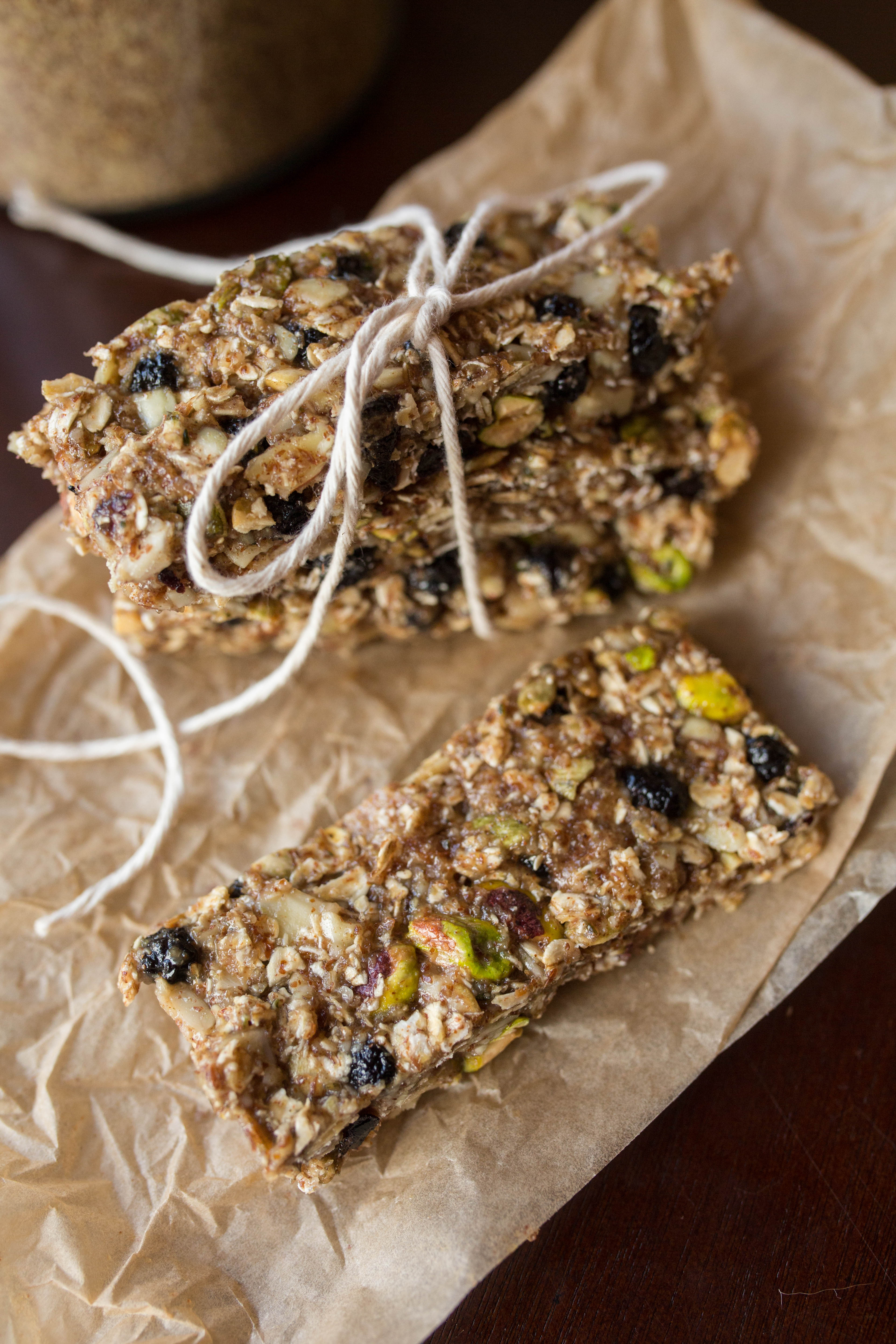 Blueberry Breakfast Bars – Vegan & Gluten Free