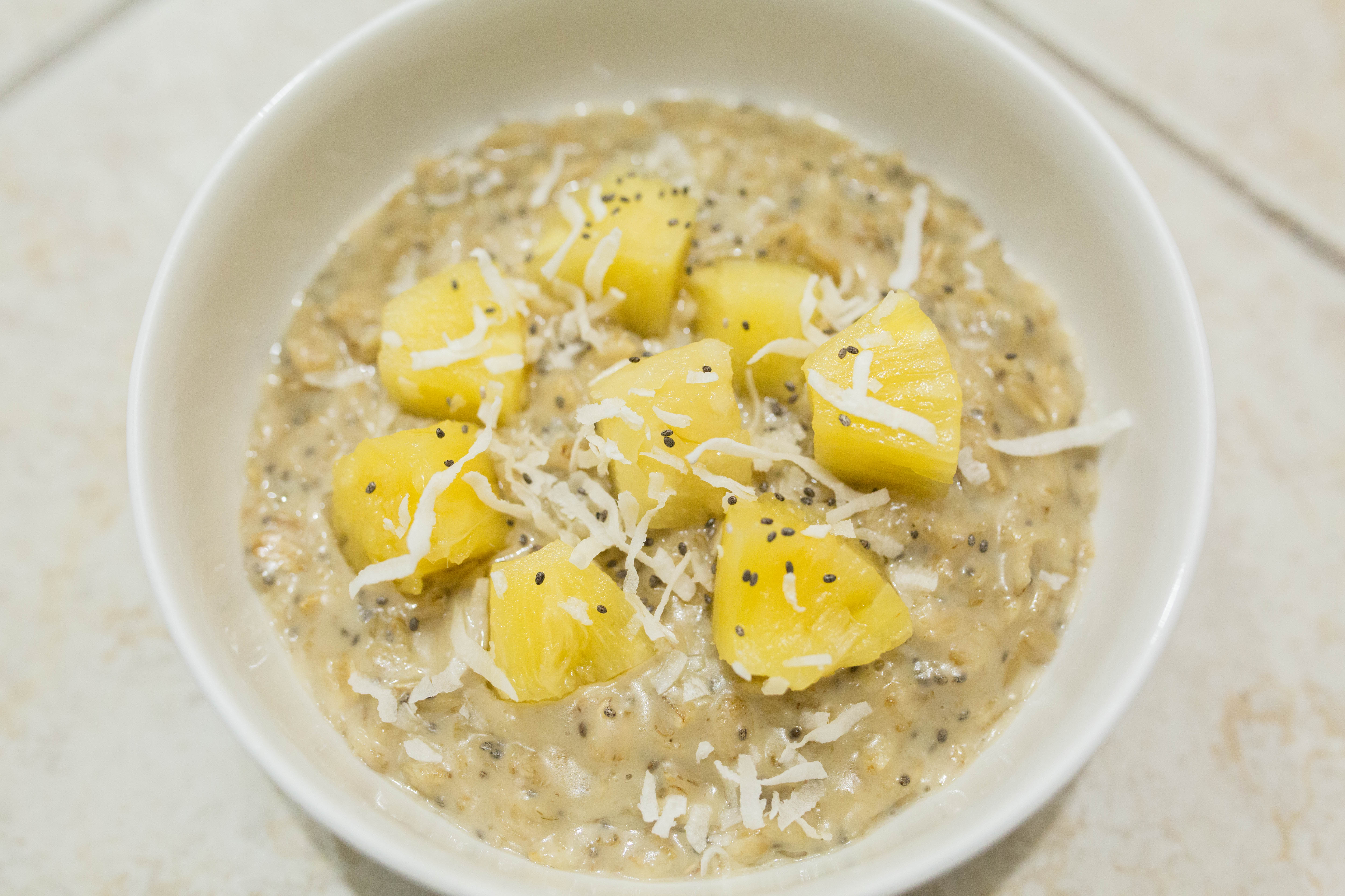 Tropical Oatmeal – Gluten Free & Vegan